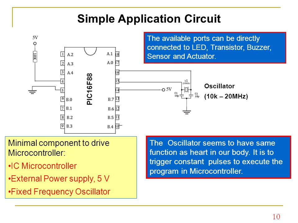 Simple Application Circuit