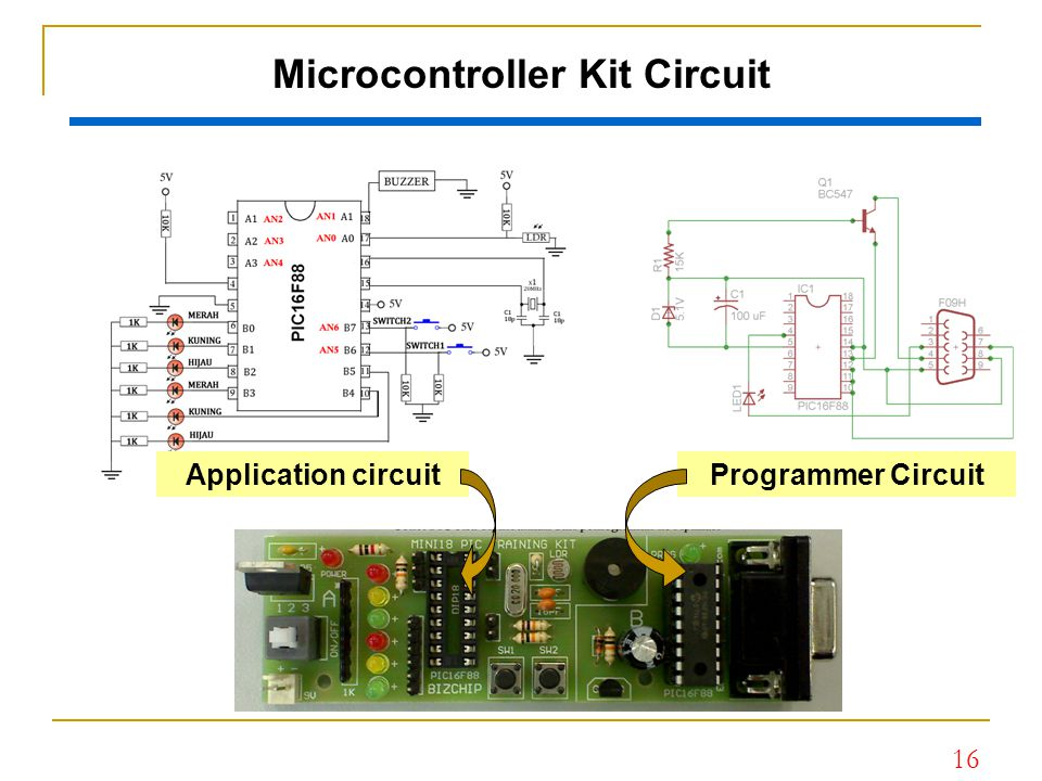 Microcontroller Kit Circuit