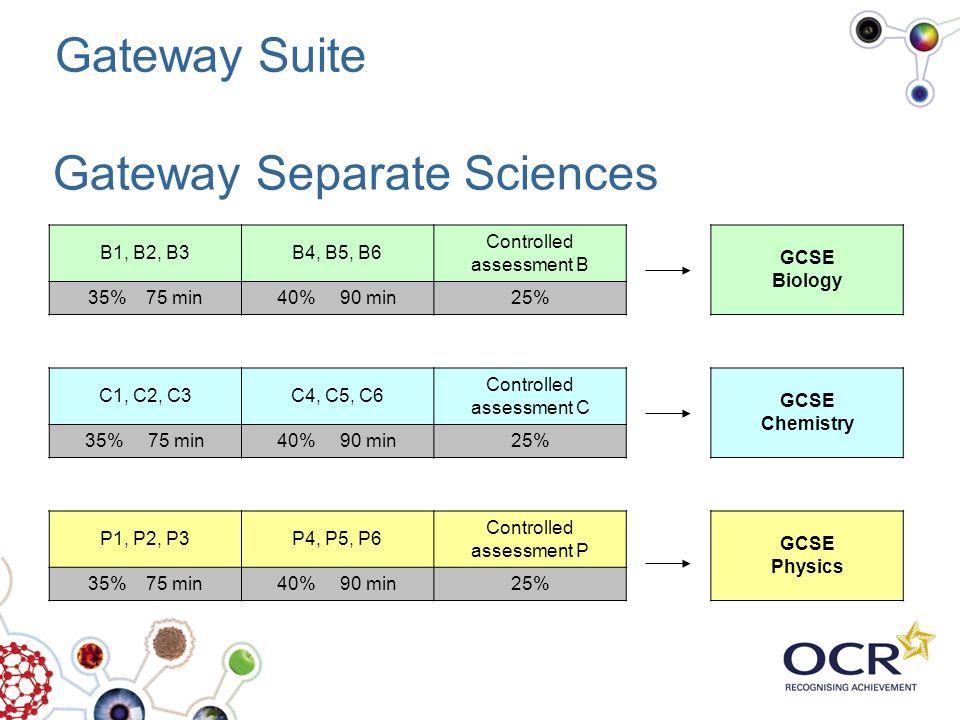 Gateway Separate Sciences