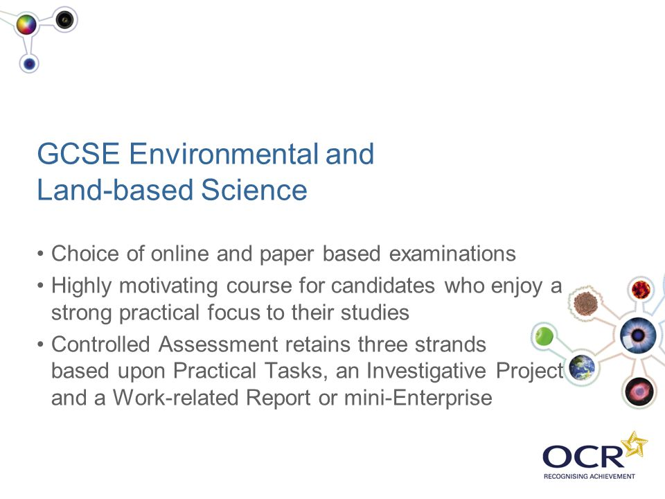 GCSE Environmental and Land-based Science