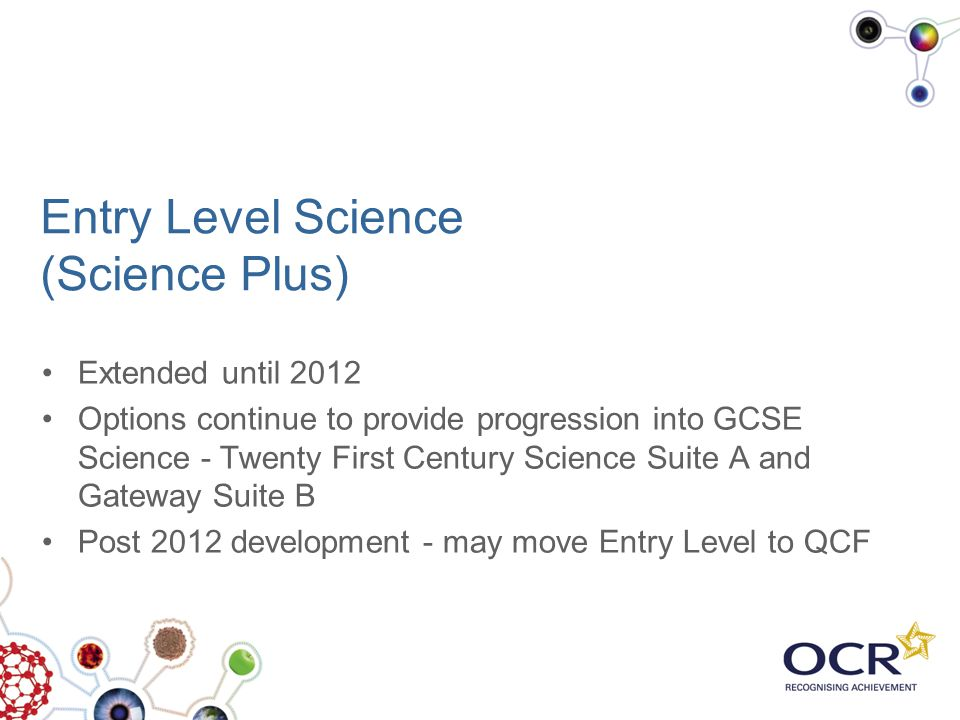 Entry Level Science (Science Plus)