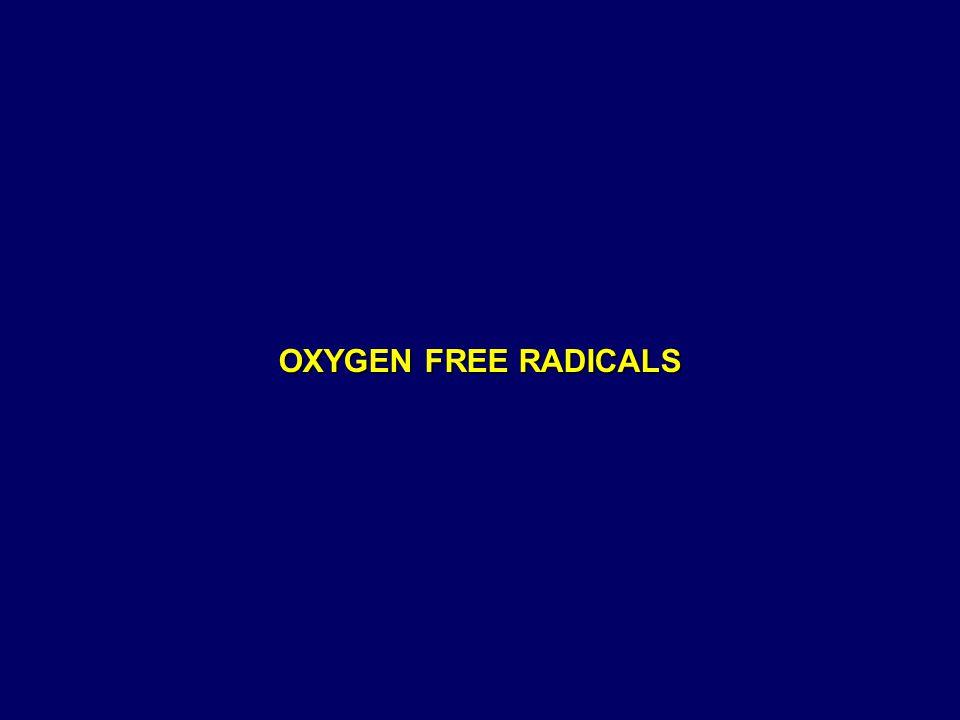 OXYGEN FREE RADICALS