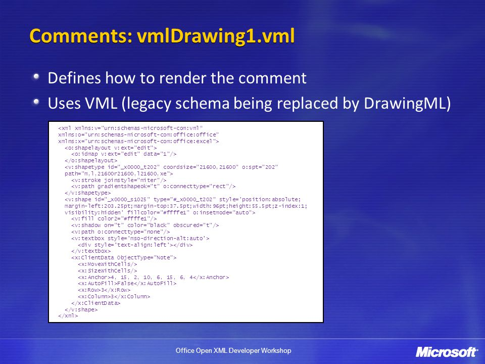 Comments: vmlDrawing1.vml