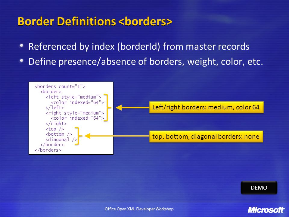 Border Definitions <borders>