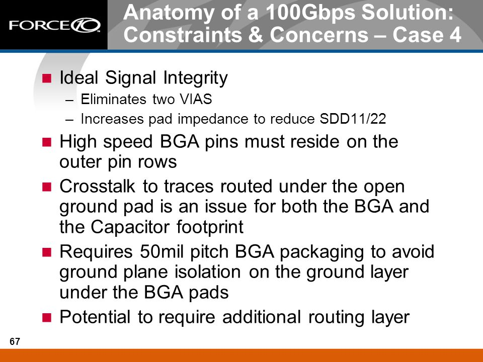 Anatomy of a 100Gbps Solution: Constraints & Concerns – Case 4