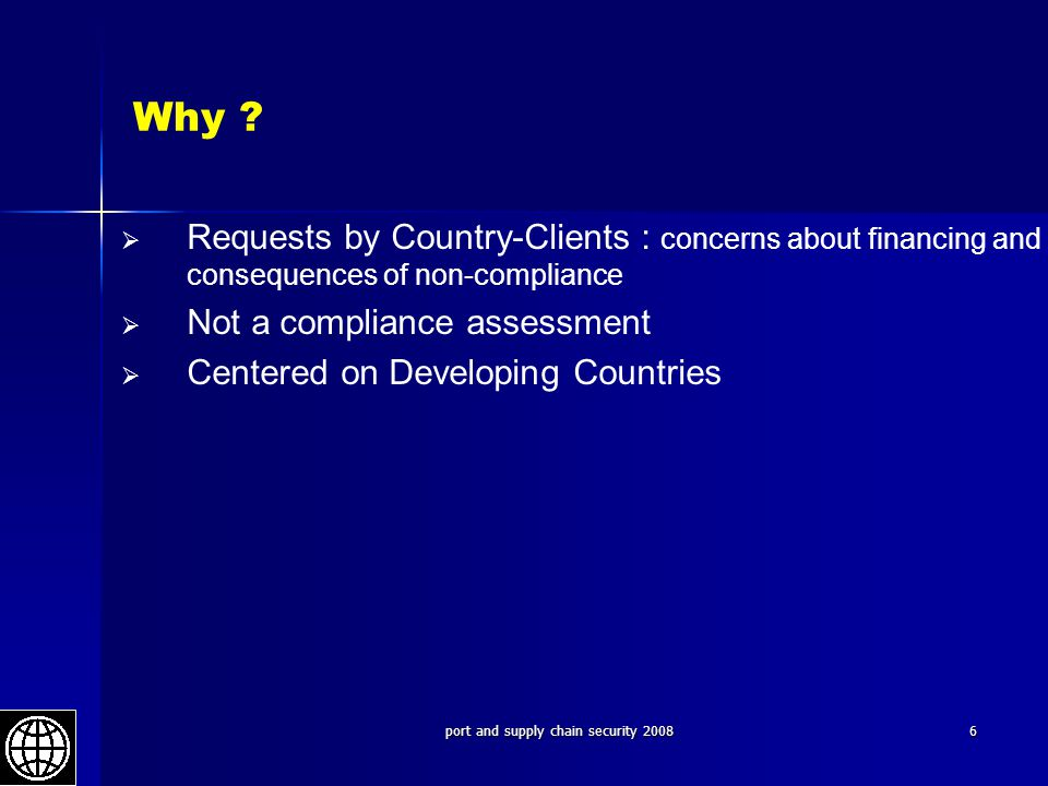 port and supply chain security 2008