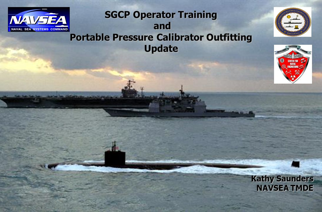 SGCP Operator Training Portable Pressure Calibrator Outfitting
