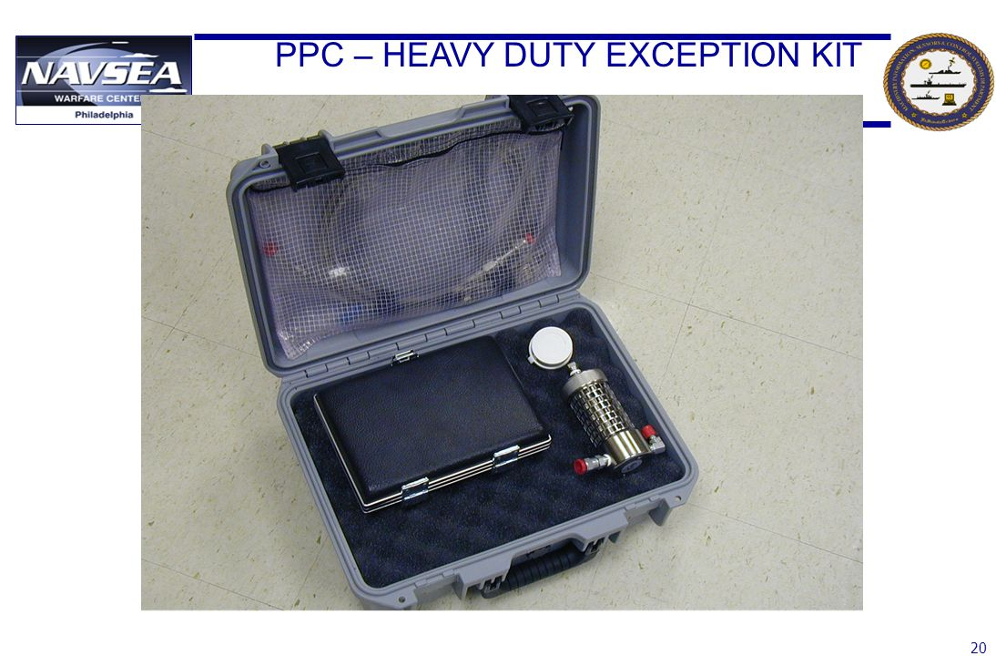 PPC – HEAVY DUTY EXCEPTION KIT