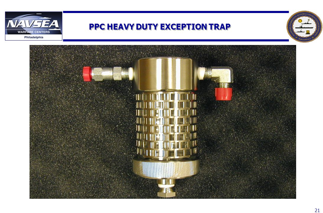PPC HEAVY DUTY EXCEPTION TRAP