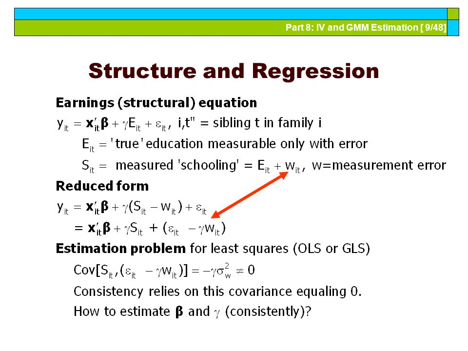 Structure and Regression
