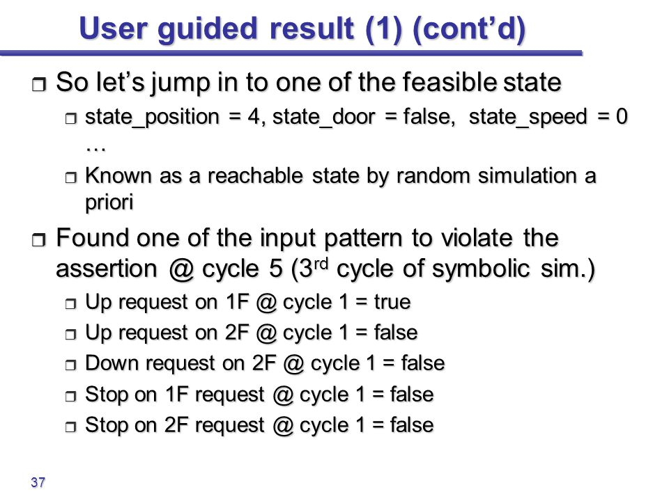 User guided result (1) (cont'd)