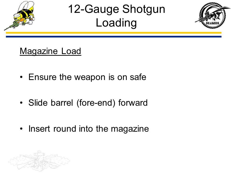 12-Gauge Shotgun Loading