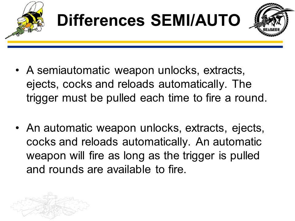 Differences SEMI/AUTO