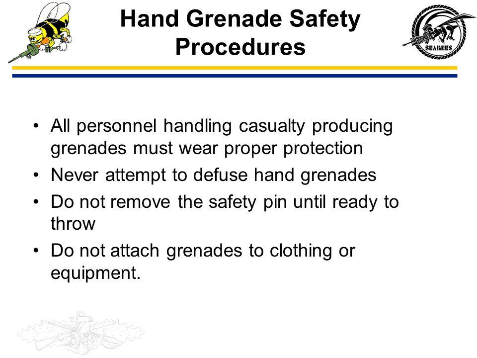 Hand Grenade Safety Procedures