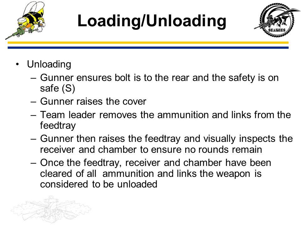 Loading/Unloading Unloading