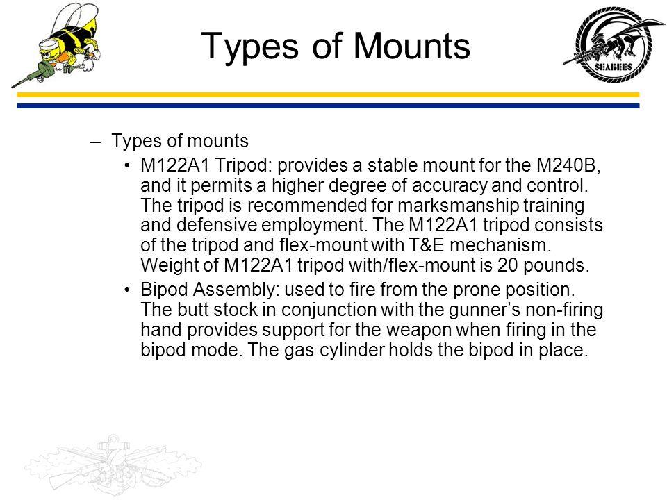 Types of Mounts Types of mounts