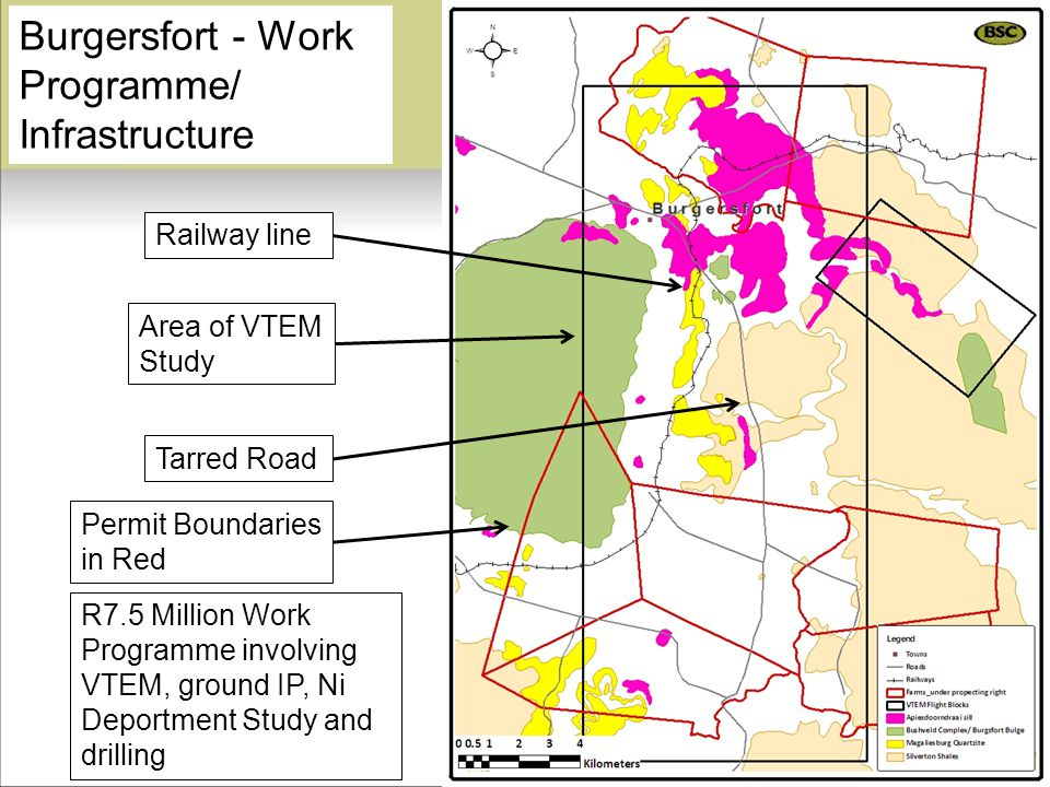 Burgersfort - Work Programme/ Infrastructure