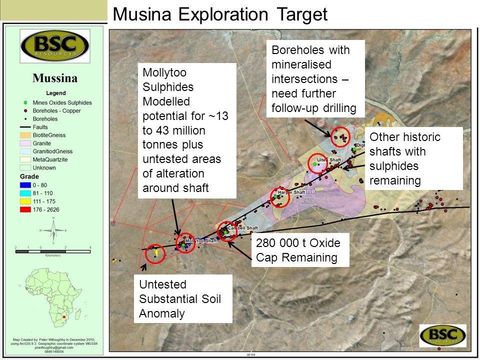 Musina Exploration Target