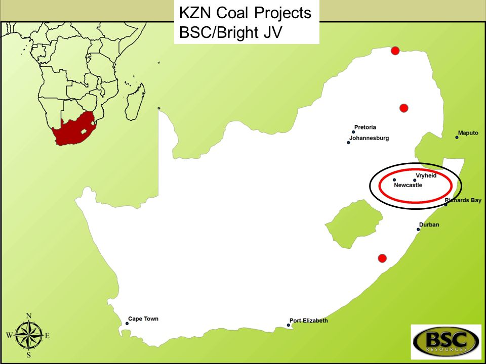 KZN Coal Projects BSC/Bright JV Main objective of the Project.