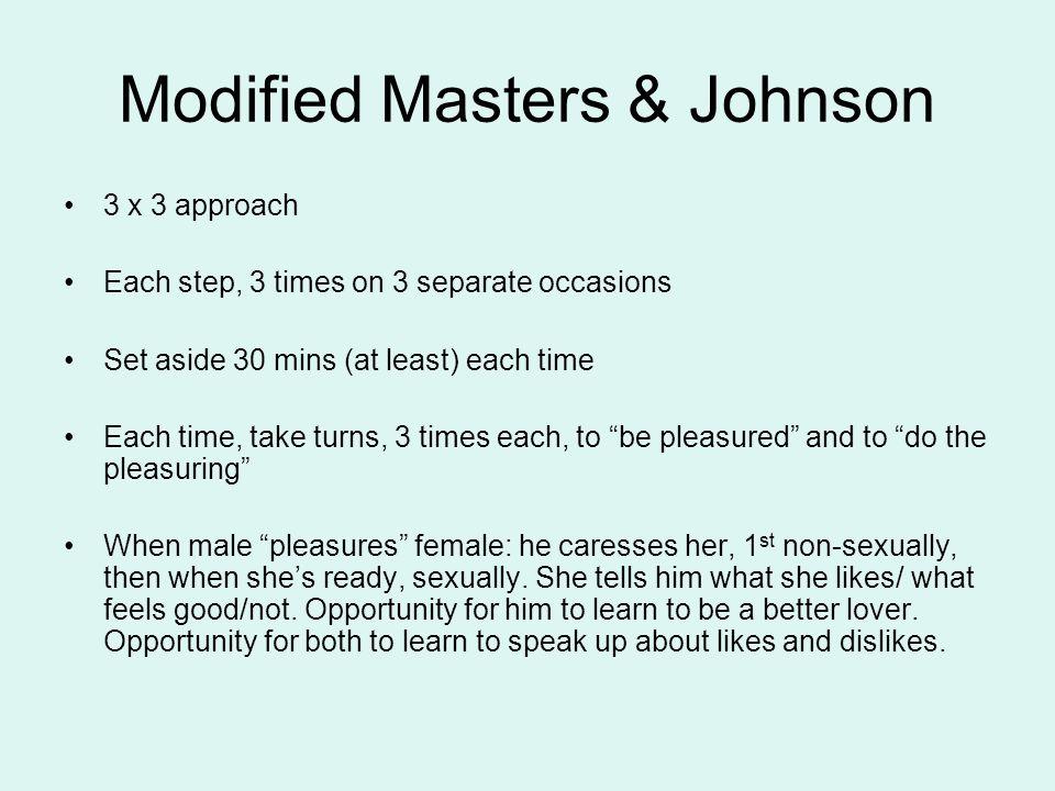 Modified Masters & Johnson