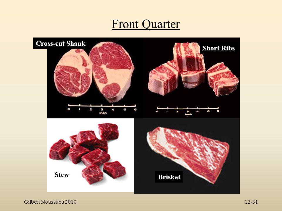 Front Quarter Cross-cut Shank Short Ribs Stew Brisket