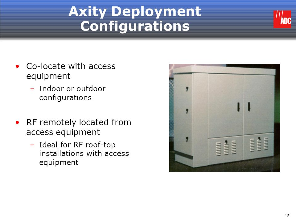 Axity Deployment Configurations