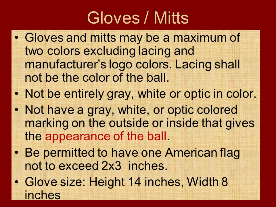 Gloves / Mitts