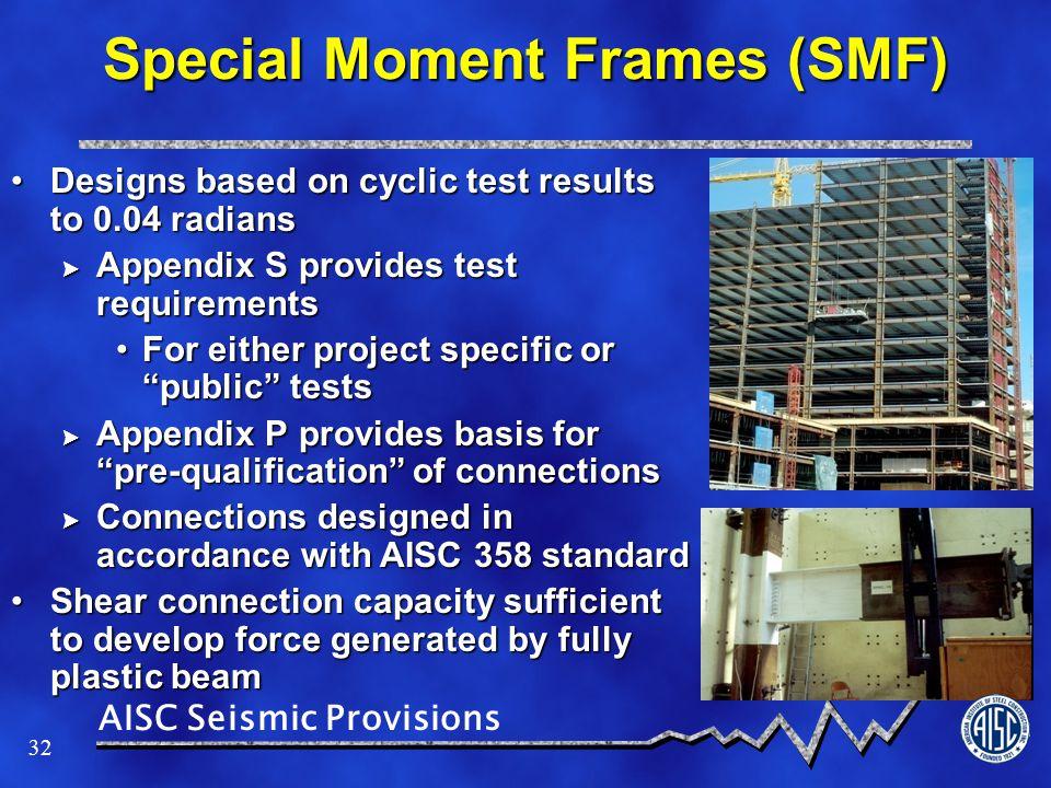 Special Moment Frames (SMF)