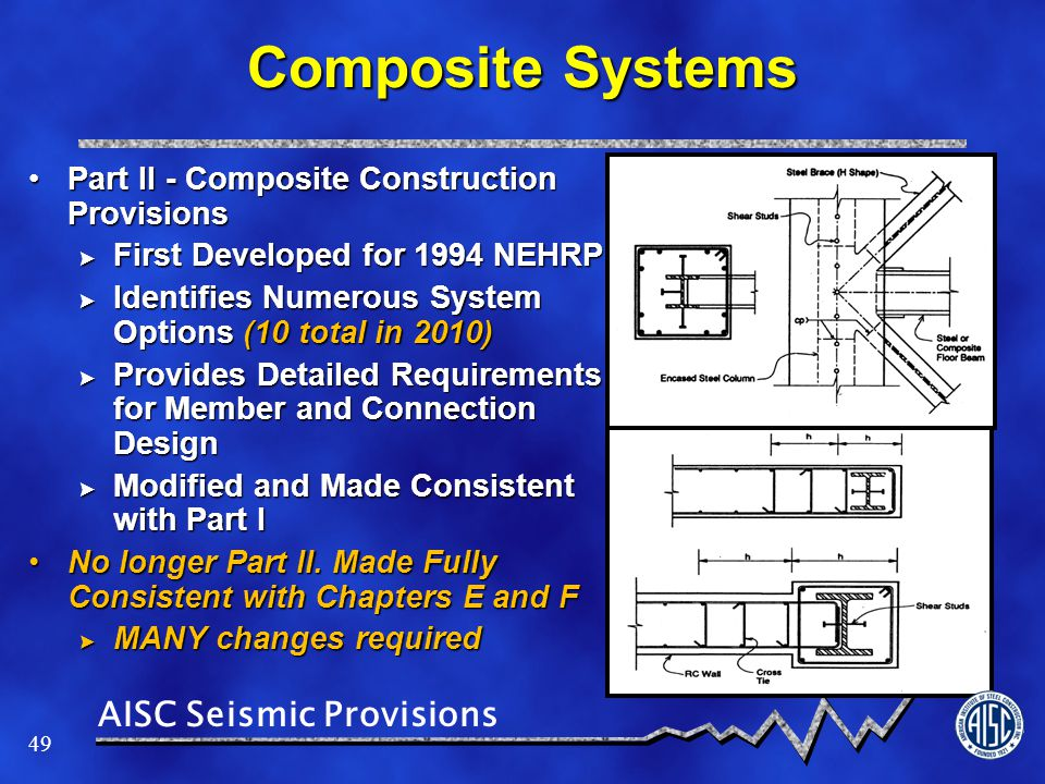 Composite Systems Part II - Composite Construction Provisions