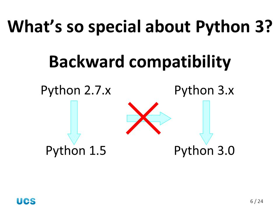 What's so special about Python 3