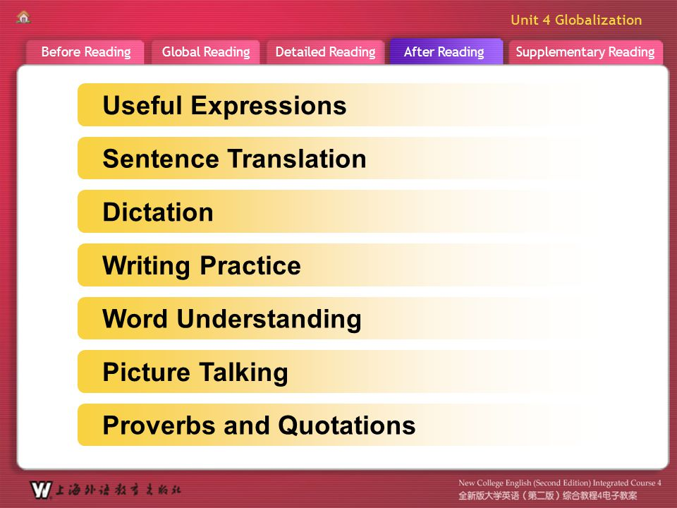 A R _ main Useful Expressions Sentence Translation Dictation