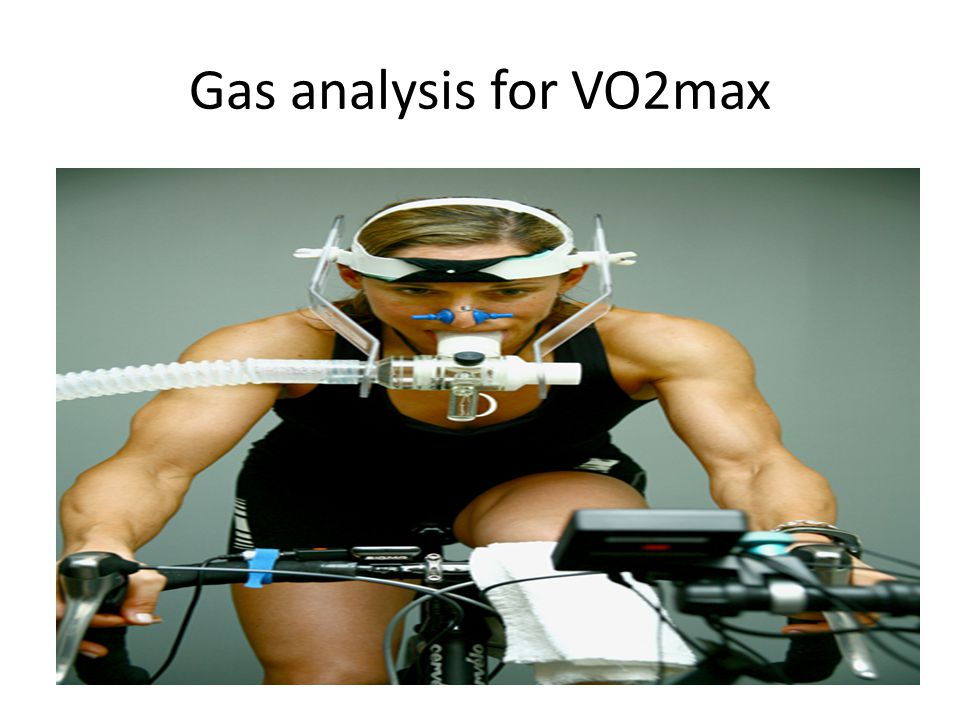 Gas analysis for VO2max