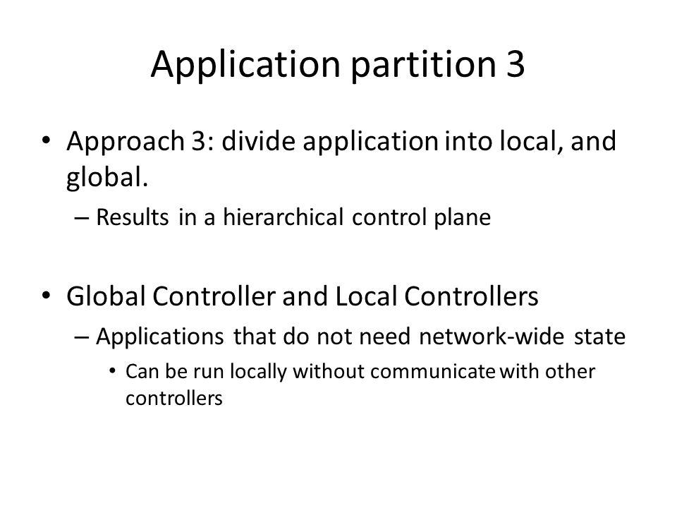 Application partition 3