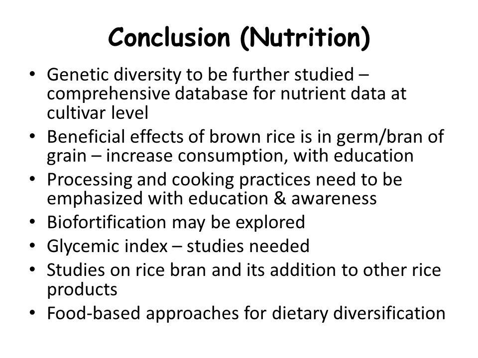 Conclusion (Nutrition)