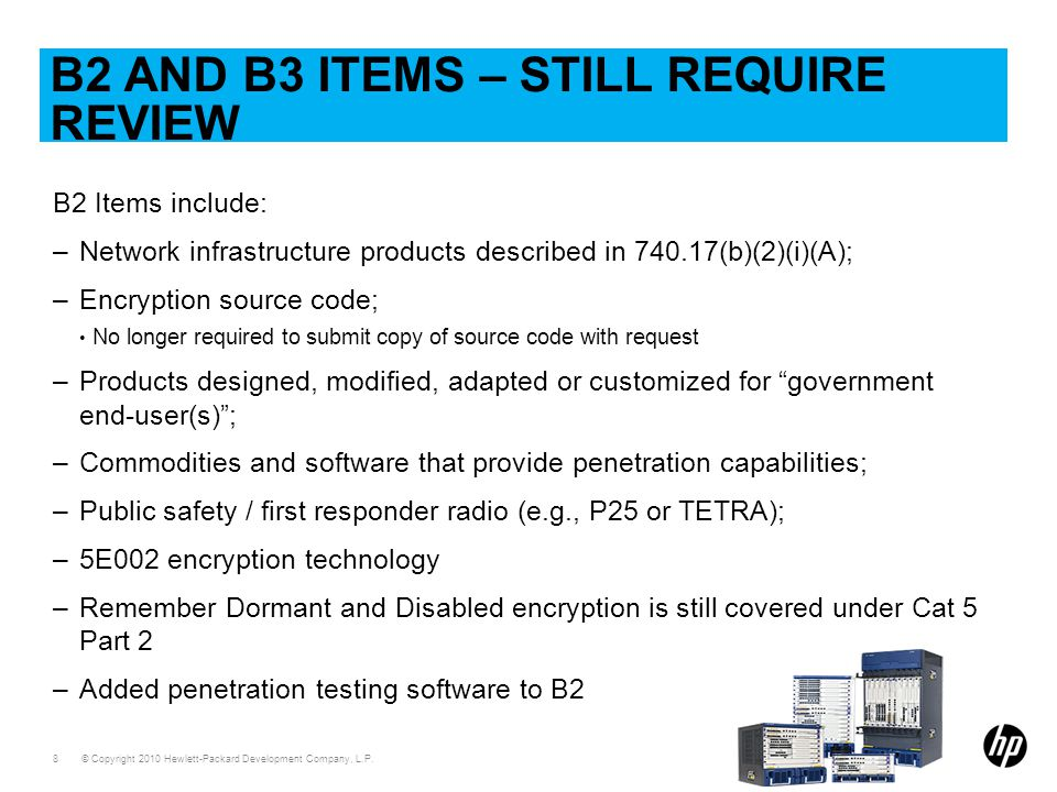 B2 and B3 Items – Still Require review