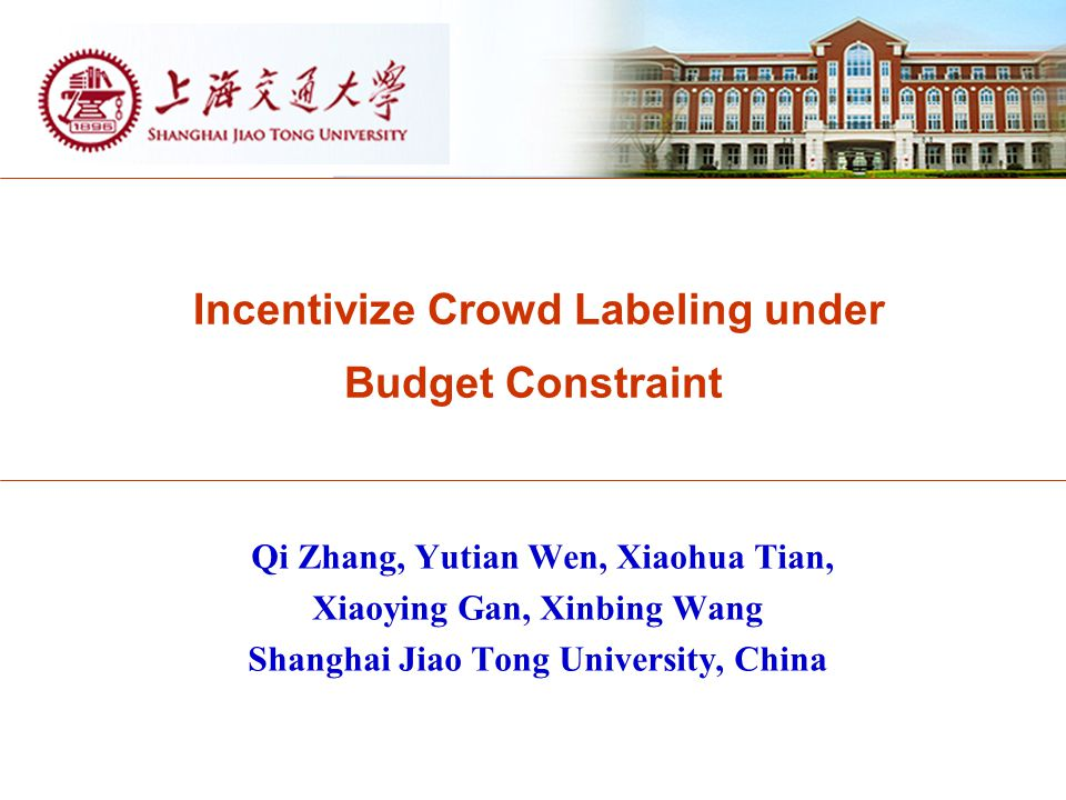 Incentivize Crowd Labeling under Budget Constraint