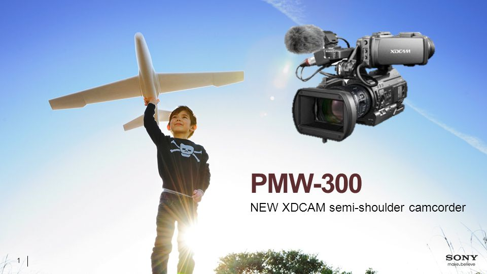 PMW-300 NEW XDCAM semi-shoulder camcorder 1