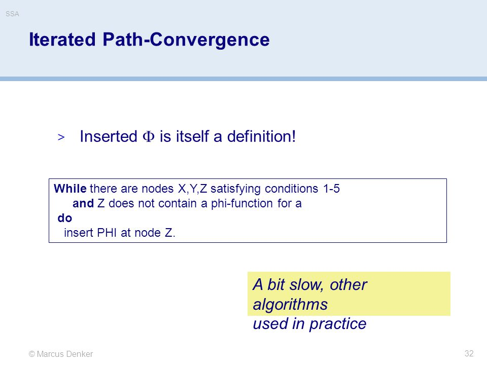 Iterated Path-Convergence