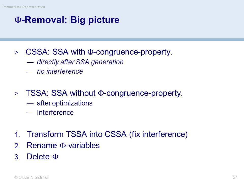 -Removal: Big picture