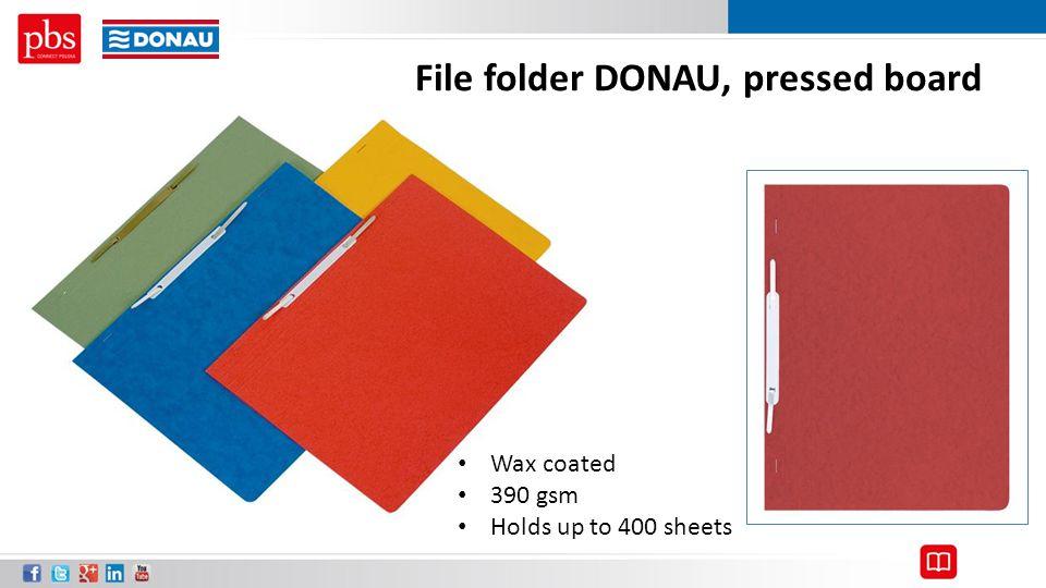 File folder DONAU, pressed board