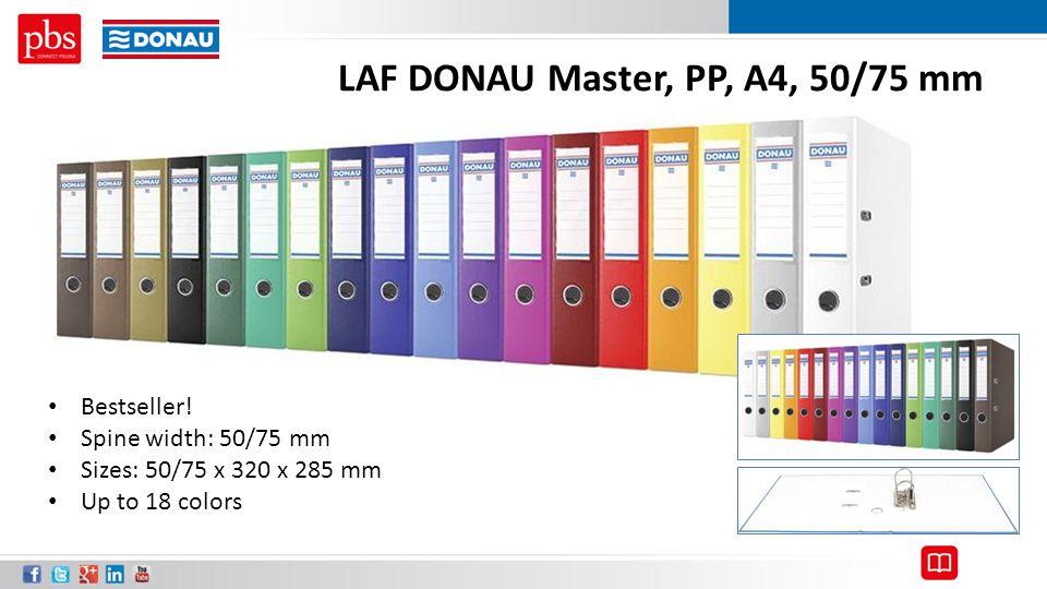 LAF DONAU Master, PP, A4, 50/75 mm