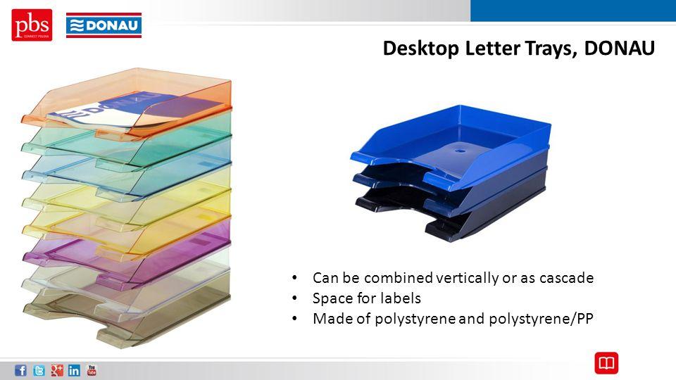 Desktop Letter Trays, DONAU