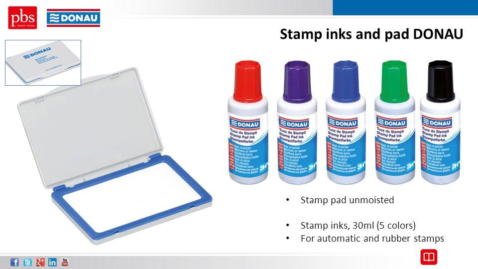 Stamp inks and pad DONAU