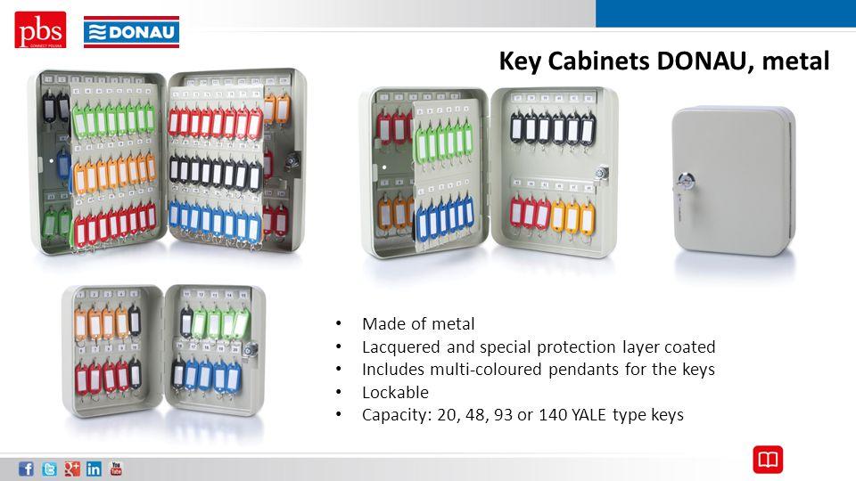 Key Cabinets DONAU, metal