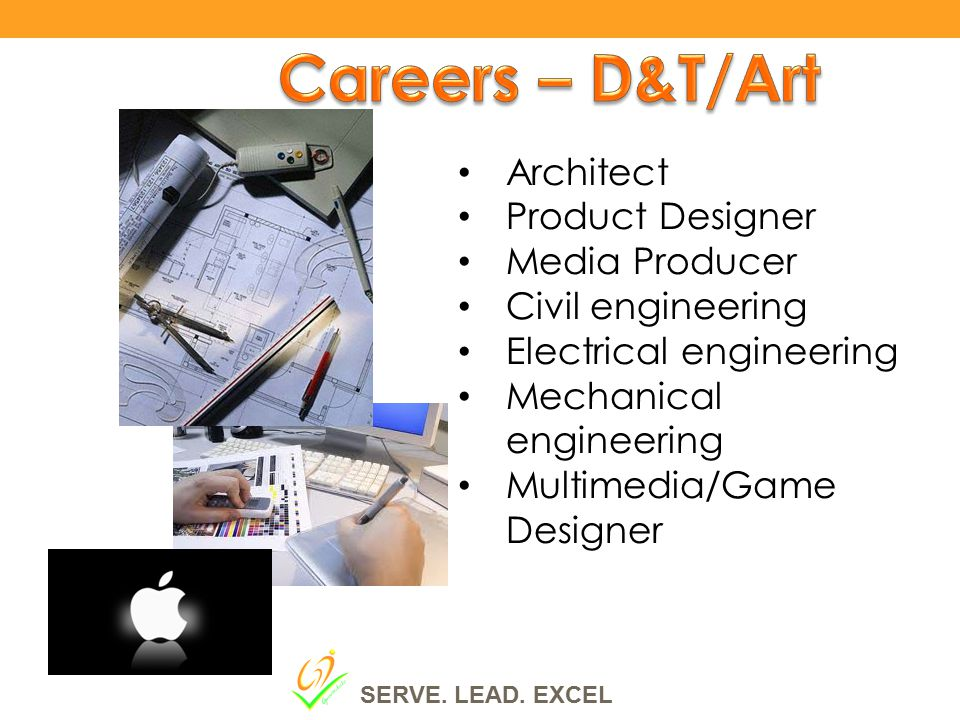 Careers – D&T/Art Architect Product Designer Media Producer