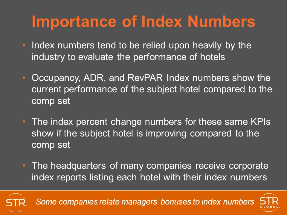 Importance of Index Numbers
