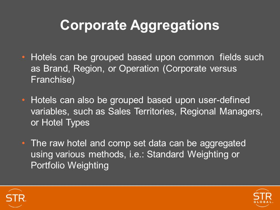 Corporate Aggregations