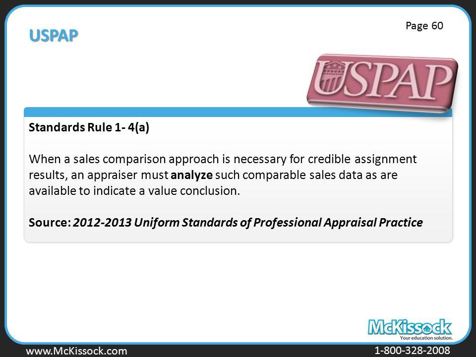 USPAP Standards Rule 1- 4(a)