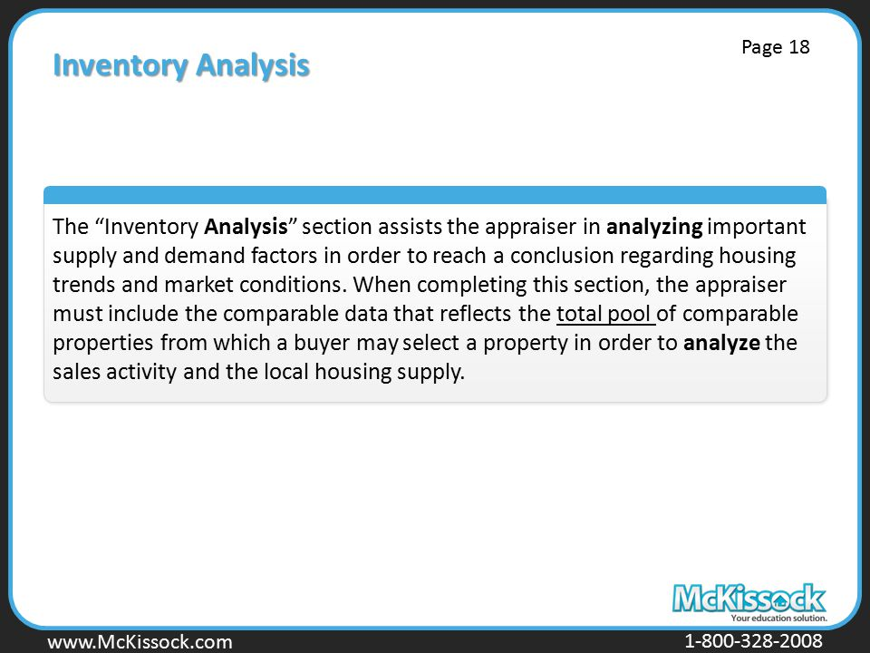 Inventory Analysis Page 18.