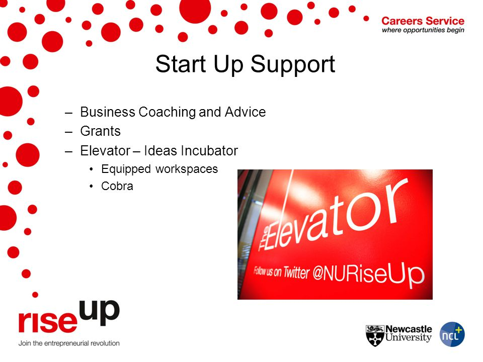 Start Up Support Business Coaching and Advice Grants